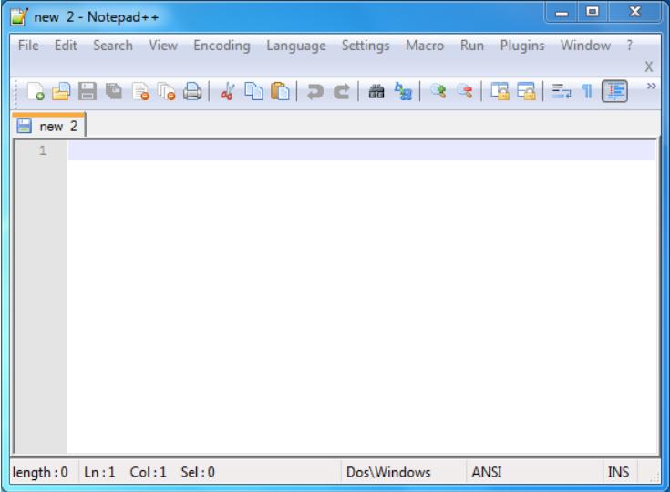 Công cụ PHP Note pad ++