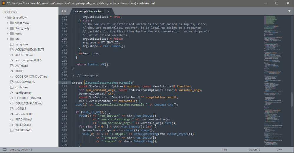 phần mềm soạn thảo php Suplime Text