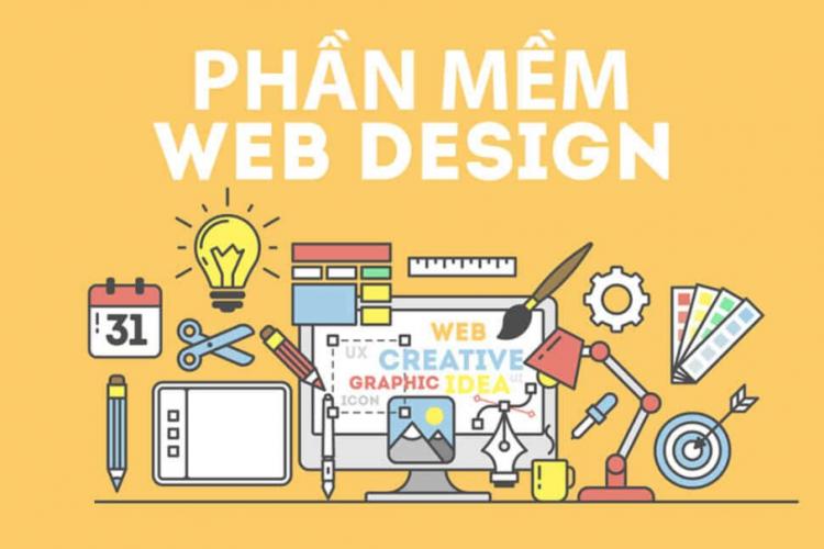 top phần mềm thiết kế web