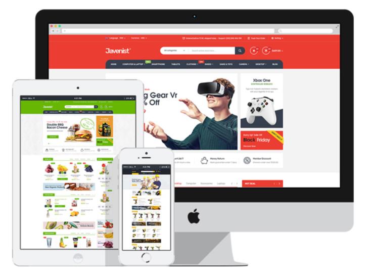 theme wordpress bán hàng online