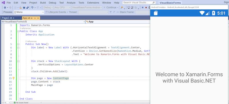 Ngôn ngữ lập trình website Visual Basic.NET