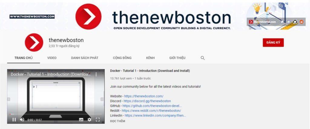 kênh the new boston